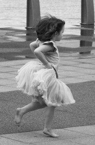 Belle running 1