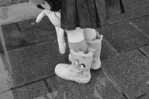 Boots bw somebodys daughter